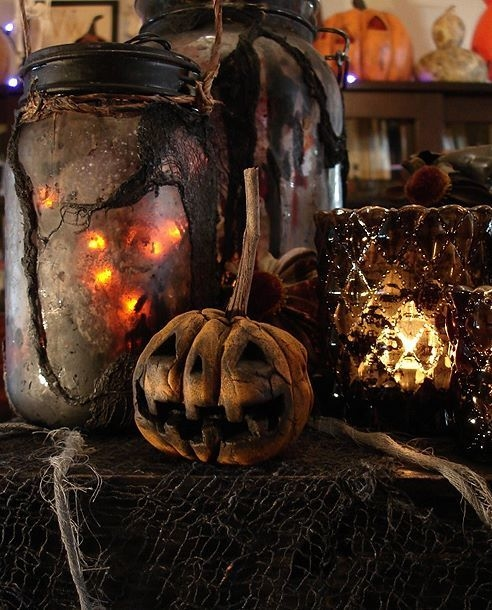 Dark Halloween Decor Pictures, Photos, And Images For