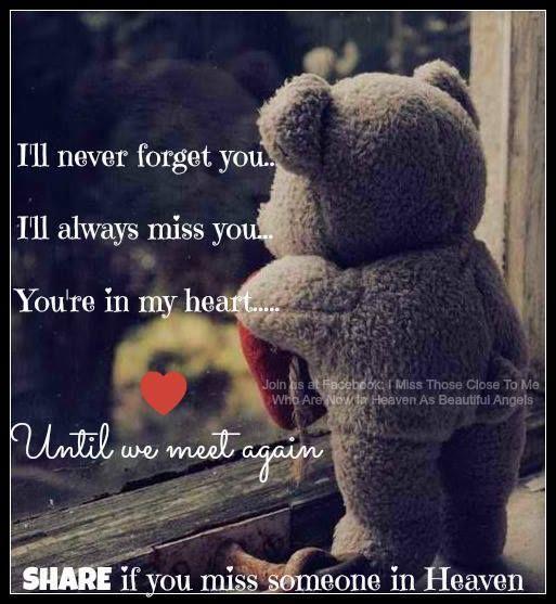 Missing my best friend in heaven