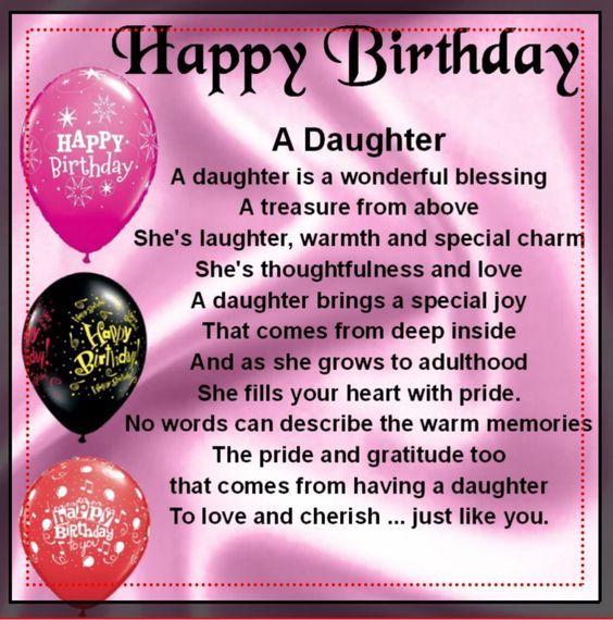 Happy Birthday My Daughter My Treasure Pictures, Photos