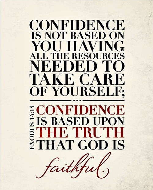 Confidence Quotes On Twitter