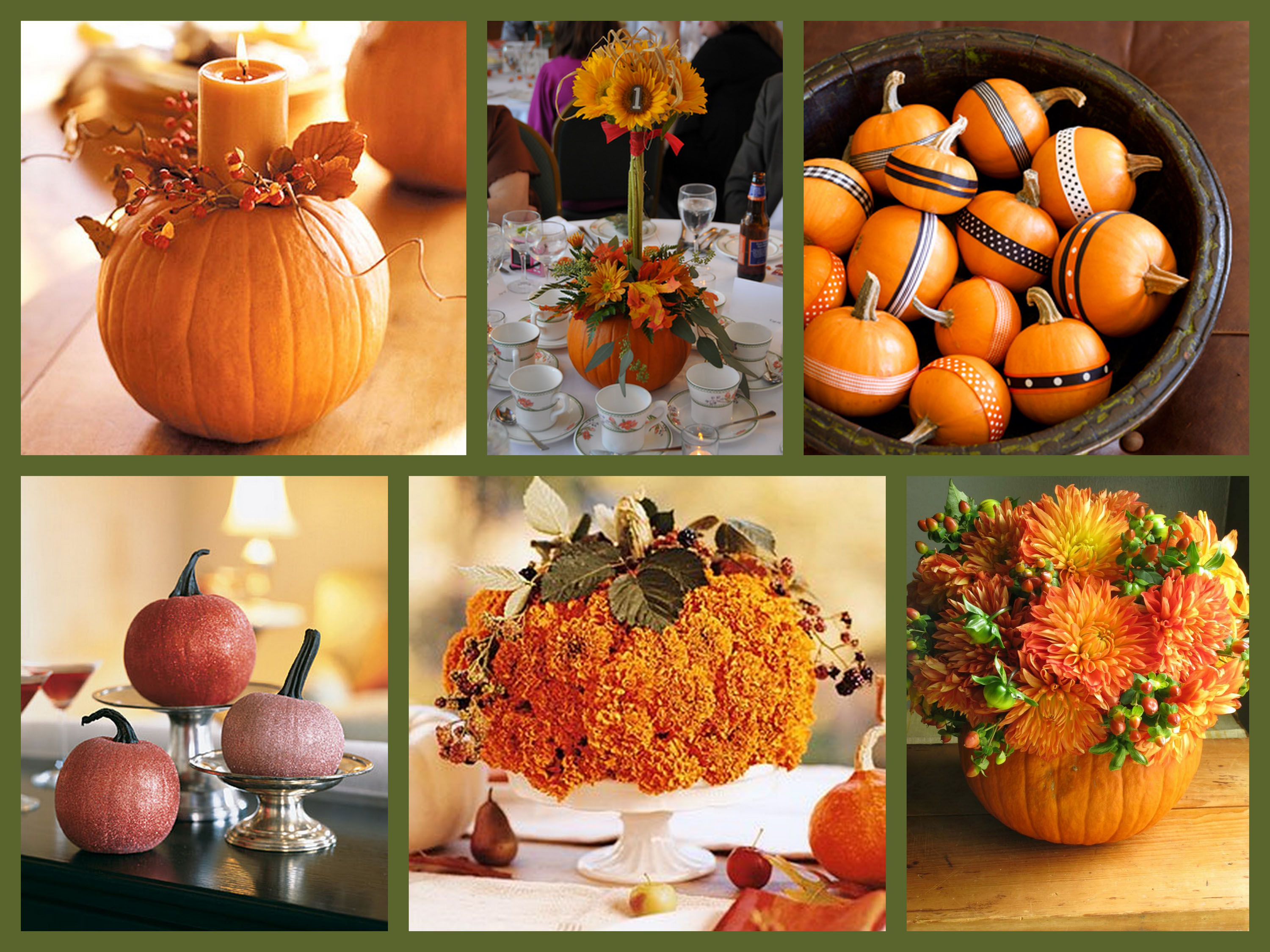 Autumn decorating inspiration pictures photos and images for Autumn wedding decoration ideas