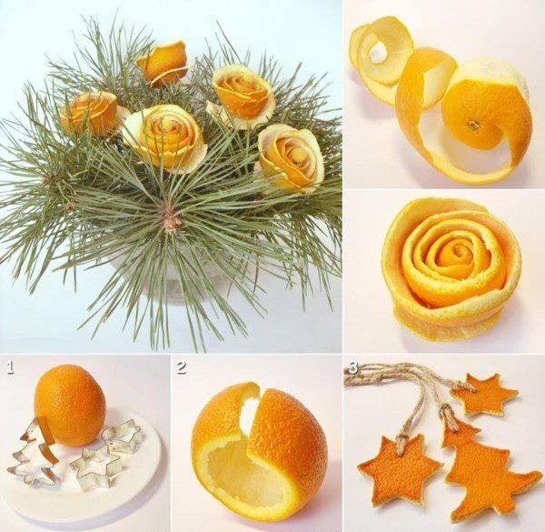 diy orange peel decorations - Diy Decorations