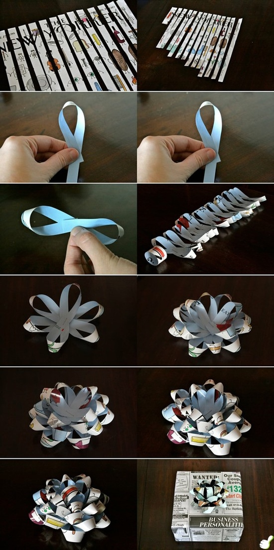 Diy craft bows pictures photos and images for facebook for Flower making at home