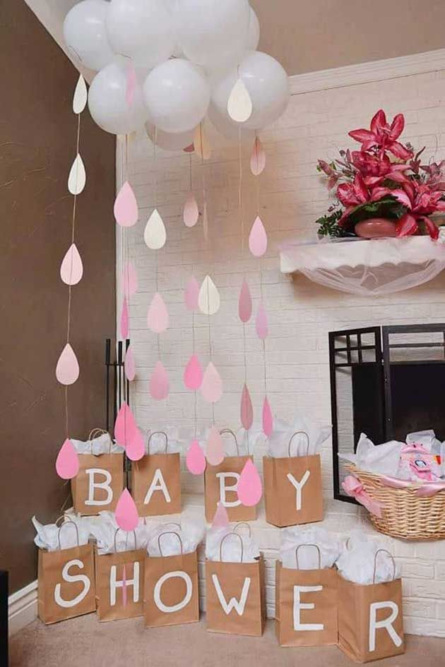 Cloud And Raindrop Baby Shower Idea Pictures Photos And Images For Facebook Tumblr Pinterest And Twitter
