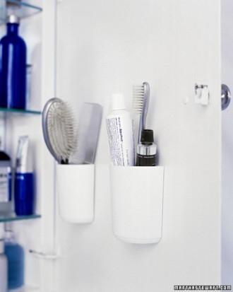 Brush Comb And Toothpaste Bathroom Organizer