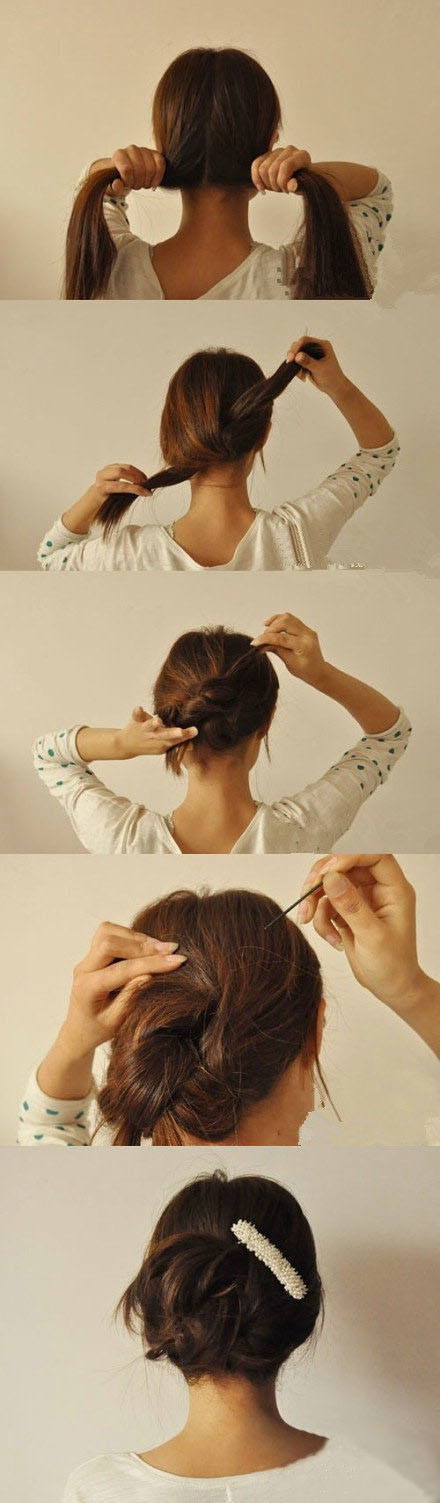 DIY Updo Hair Style Pictures, Photos, and Images for Facebook, Tumblr ...