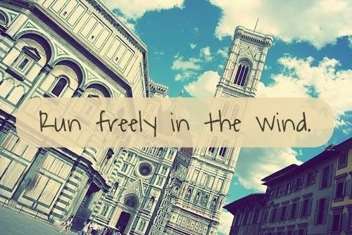 run freely