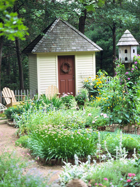 Sy Sheds Bhg Garden Shed Ideas - garden shed landscaping