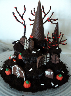 Halloween Tower House Cake Pictures Photos And Images