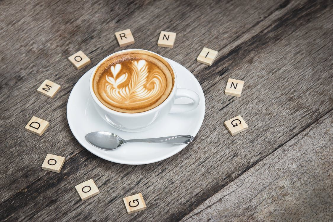 Scrabble Good Morning Coffee Quotes Pictures, Photos, and ...
