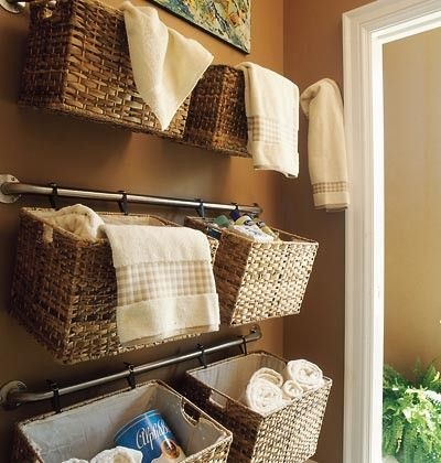 Hang Baskets On Curtain Rods Pictures, Photos, and Images for ...
