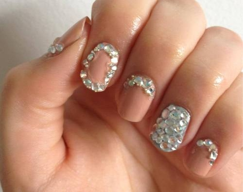 Rhinestone nail design - Rhinestone Nail Design Pictures, Photos, And Images For Facebook