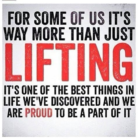 More than just lifting pictures photos and images for - Powerlifting quotes ...