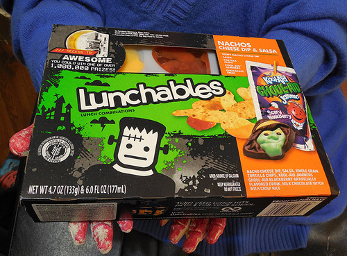 Halloween Lunchables