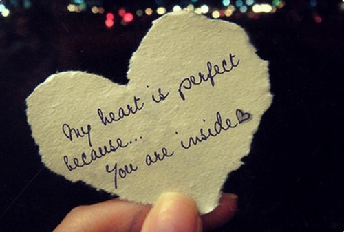 is perfect because you...