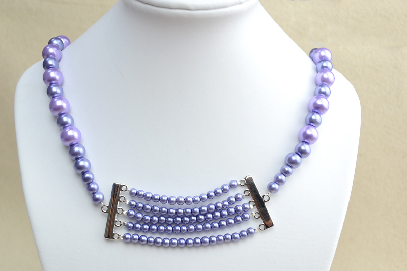 make your own pearl necklace pictures photos and images