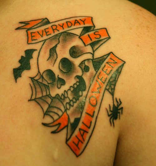 Everyday Is Halloween Tattoo Pictures, Photos, and Images for ...