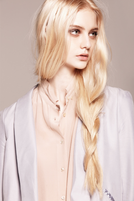 Blonde Models Top Models Blond Hair: Blonde Model With Braids Pictures, Photos, And Images For