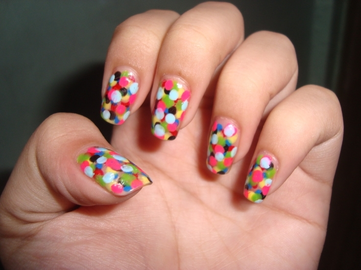 Polka Dot Nails Pictures, Photos, and Images for Facebook, Tumblr ...