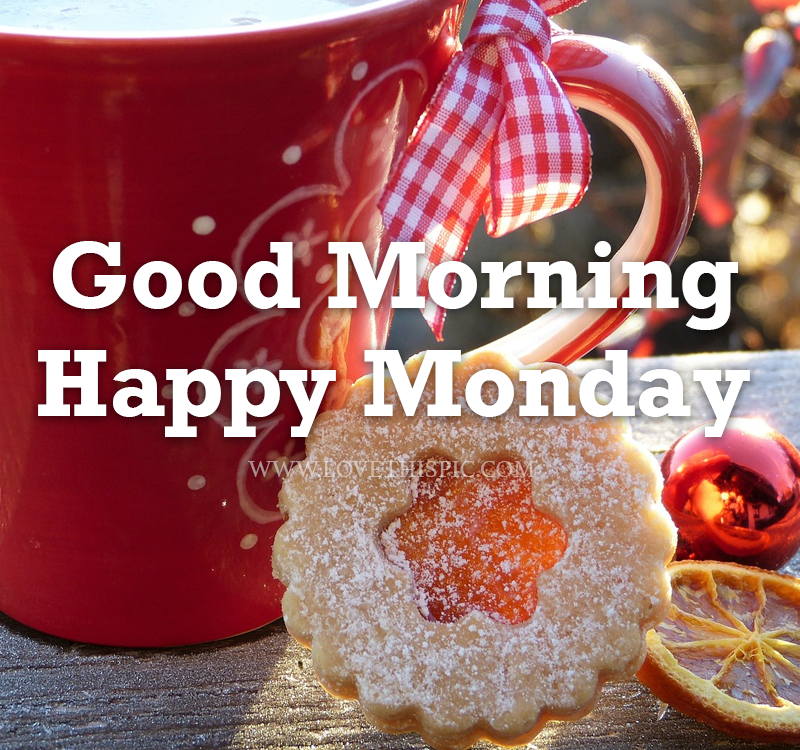 Hot Chocolate Cookies Good Morning Happy Monday Pictures Photos And Images For Facebook Tumblr Pinterest And Twitter
