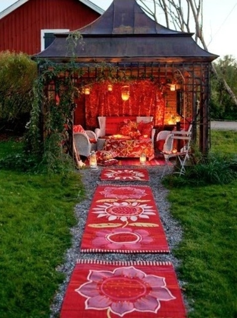 Shed Turned Into Outdoor Room Pictures Photos And Images