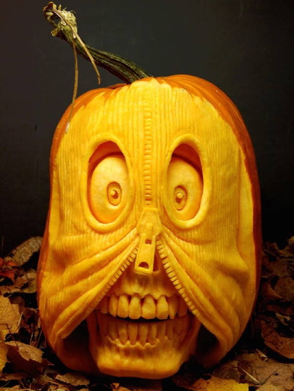 Crazy pumpkin carving pictures photos and images for for Crazy pumpkin designs