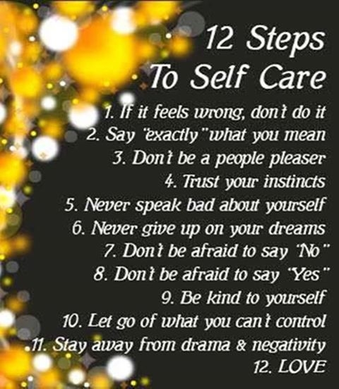 12 Steps To Self Care Pictures, Photos, and Images for ...