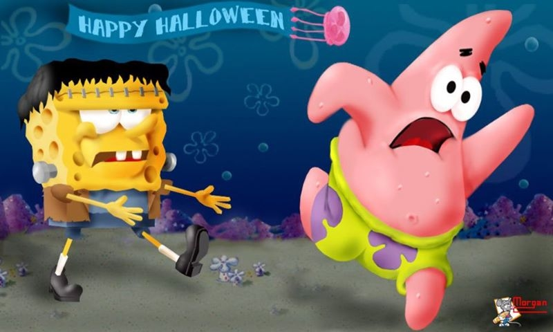 Spongebob Happy Halloween Pictures, Photos, and Images for ...