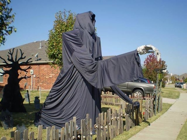 Large Grim Reaper Lawn Decoration Pictures Photos And