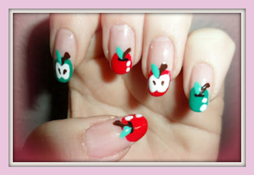 Apple Tip Nail Designs Pictures Photos And Images For Facebook