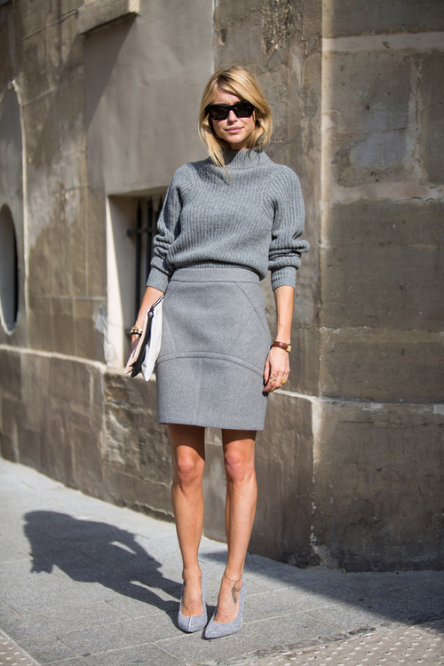 sweater and mini skirt combo pictures photos and images for facebook tumblr pinterest and. Black Bedroom Furniture Sets. Home Design Ideas
