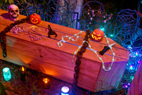 Coffin Halloween Decorations Pictures Photos And Images For