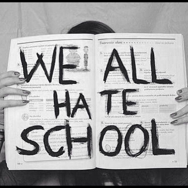 I hate school pictures tumblr