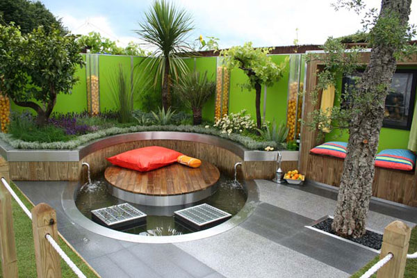 Patio Garden Design