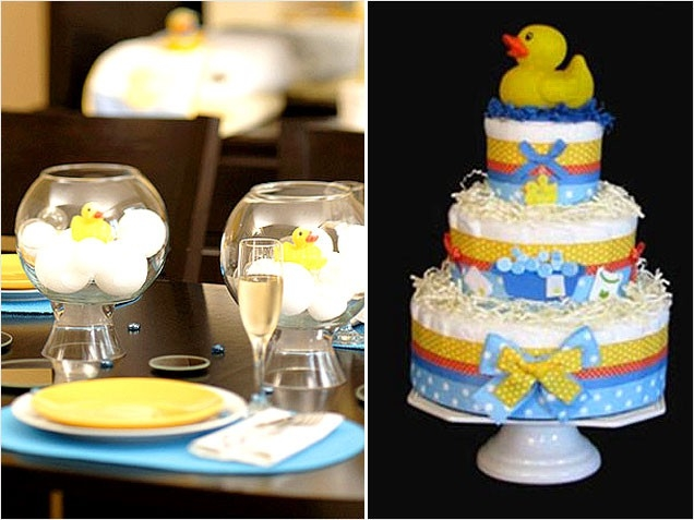 rubber duckies baby shower rubber duck theme