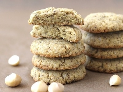 White Chocolate Macadamia Shortbread Cookies Pictures, Photos, and ...