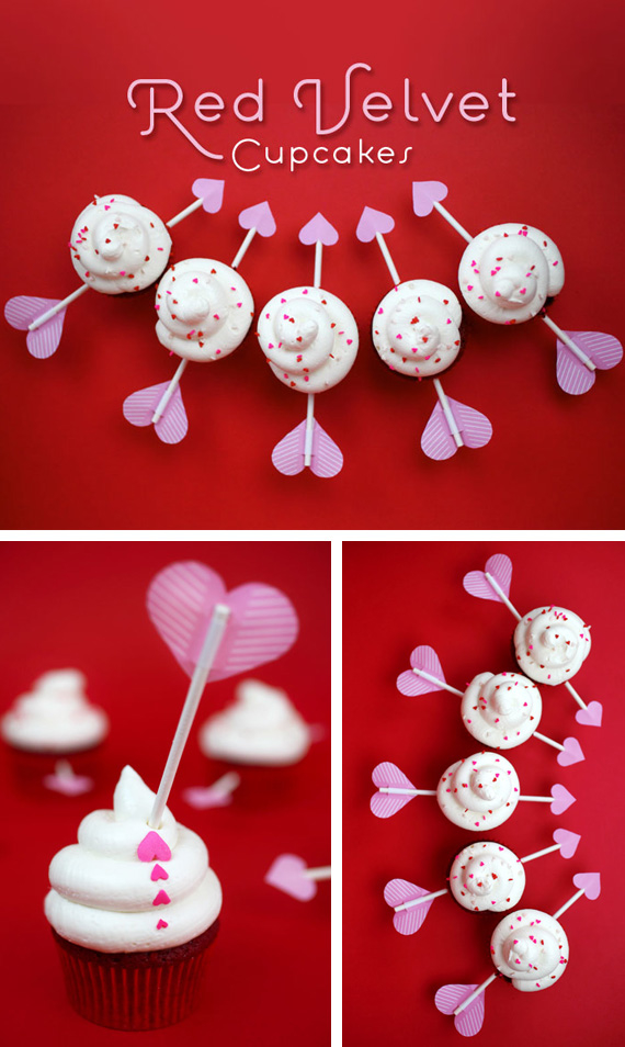 Cupid Arrow Cupcakes Pictures, Photos, and Images for ...