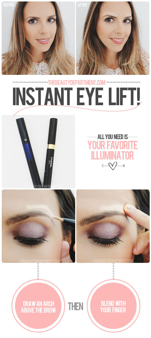 DIY Instant Eye Lift
