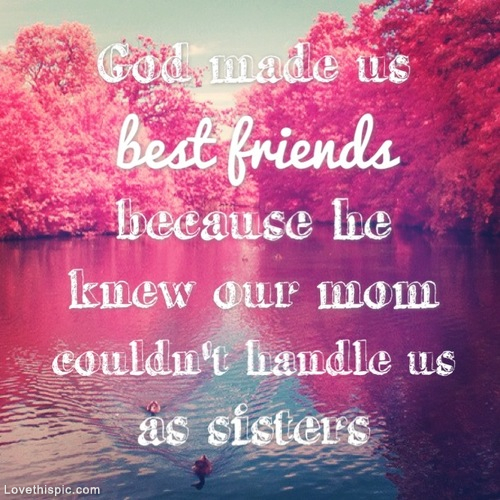 God Made Us Best Friends Pictures, Photos, and Images for Facebook ...