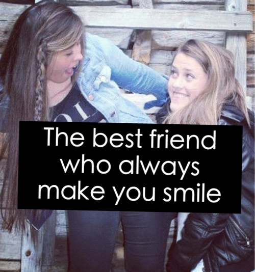 Quotes About Smile And Friendship Gorgeous The Best Friend Who Always Make You Smile Pictures Photos And