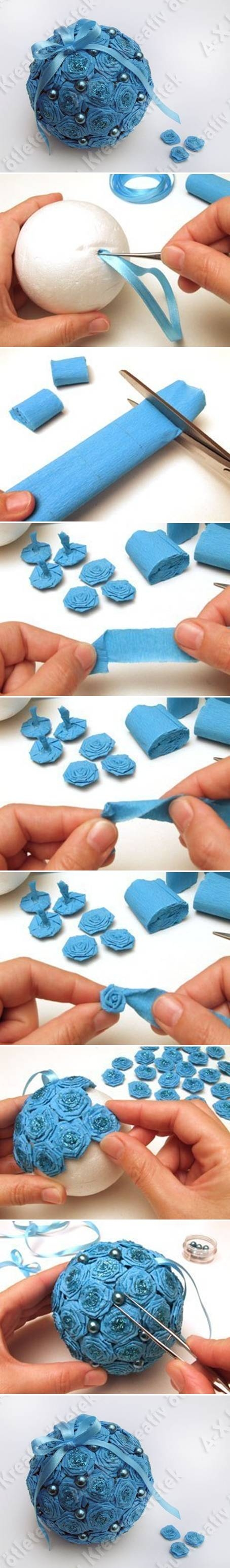 Diy crepe paper flower ball pictures photos and images for diy crepe paper flower ball mightylinksfo