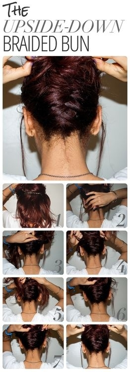 DIY Upside Down Braided Bun