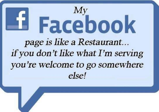 how to get in my facebook page