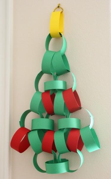 Craft Paper Christmas Tree