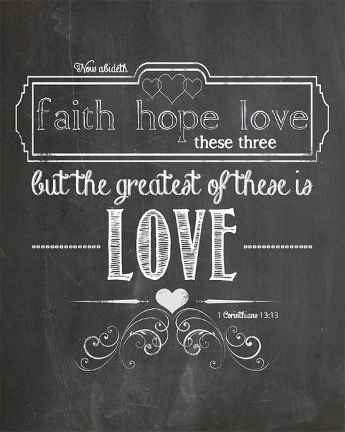 Forever young faith hope and love - Faith love hope pictures ...
