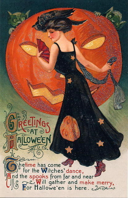 Vintage halloween greeting pictures photos and images for facebook vintage halloween greeting m4hsunfo