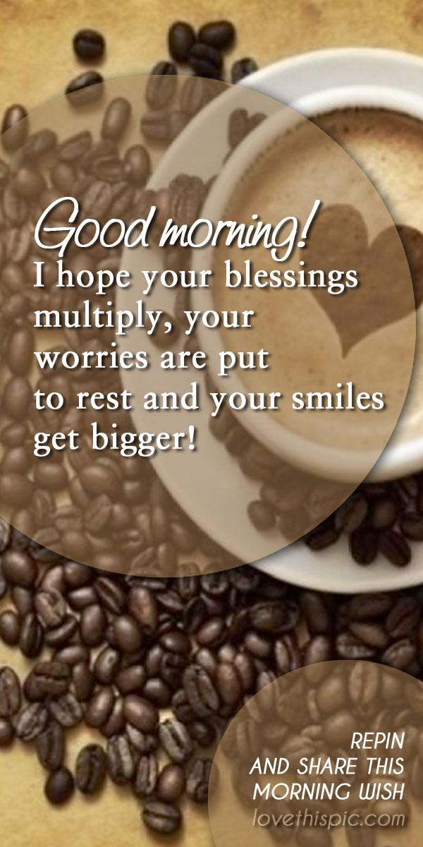 Morning wish
