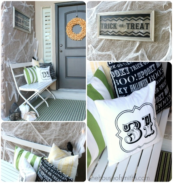 Modern halloween porch pictures photos and images for for Modern halloween decor