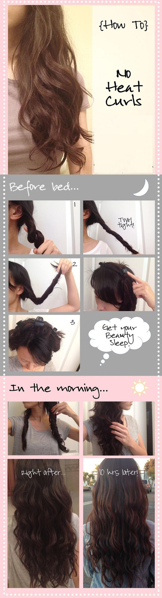 DIY No Heat Curls Pictures, Photos, and Images for ...