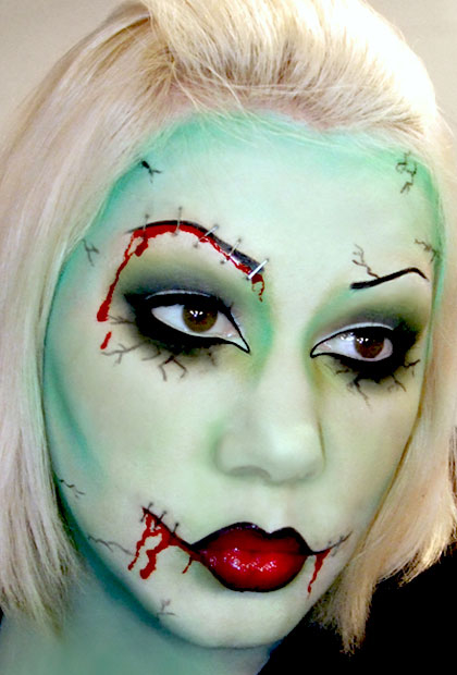 Zombie makeup pictures photos and images for facebook tumblr zombie makeup solutioingenieria Gallery